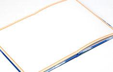 白ページの見本