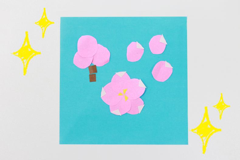 桜コラージュ
